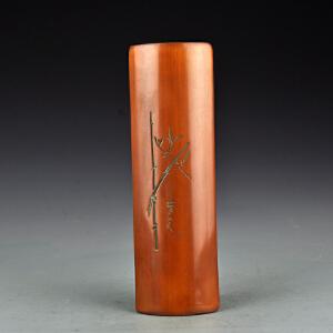 竹雕节节高升臂搁2