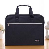 手提文件包女士公文包办公商务职业工作包会议手提文件袋定制LOGO