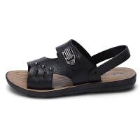 2019夏季新款男士凉鞋夏天凉拖鞋两用男凉鞋爸爸鞋中老年凉拖鞋