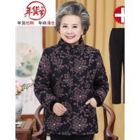 中老年人冬装女棉袄60-70岁老人加绒加厚奶奶装棉衣妈妈外套