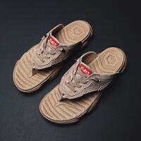 拖鞋男人字拖男士潮夏室外2019新款潮流韩版个性外穿夏季凉拖耐穿夏季百搭鞋