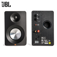 JBL CM102多媒体书架音响电脑2.0蓝牙音箱 台式迷你HIFI低音音箱