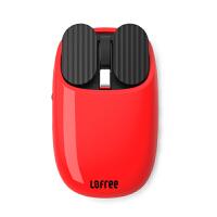 洛斐 MAUS薯片蓝牙鼠标无线笔记本苹果macbook台式电脑家用商务办公鼠标可爱个性男女 红色
