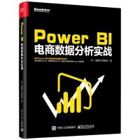 Power BI 电商数据分析实战 Power BI操作教程书籍 电商BI系统框架搭建 数据分析Power BI应用电