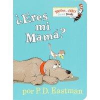 西班牙语原版 苏斯博士 你是我的妈妈吗? 纸板书 低幼启蒙认知 Eres Mi Mama?