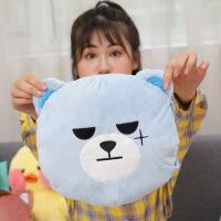 【好货优选】红鹏 暖手袋可充电GD熊抱枕毛绒玩具暖手宝热水袋电暖宝质量安全保障电热水袋