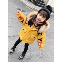 女童冬装棉衣儿童冬季棉袄女宝宝小女孩外套