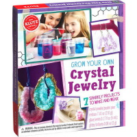 Grow Your Own Crystal Jewelry 英文原版 Klutz 水晶饰品制作 手工DIY 益智图书玩