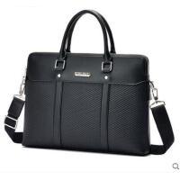 大容量便携旅游包手提包单肩包斜挎包皮包电脑包男士包包横款公文包