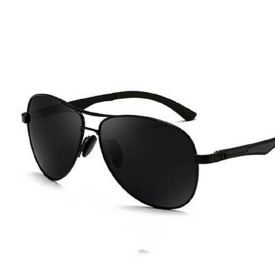 太阳镜男士偏光眼镜近视眼睛墨镜个性潮人 司机驾驶开车蛤蟆镜 品质保证 售后无忧 支持货到付款