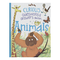 Curious Questions and Answers Animals 好奇问与答系列 动物插图英语百科书 儿童英