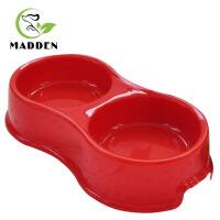 宠物食具 圆形双头树脂宠物碗 宠物防滑双碗 狗盆猫碗 颜色* 180301016