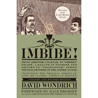 英文原版 饮酒!美国鸡尾酒之旅 Imbibe! by David Wondrich