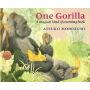 One Gorilla 一只大猩猩 廖彩杏书单 英文原版图书绘本 幼儿儿童启蒙英语故事书 数数书 英文原版图书
