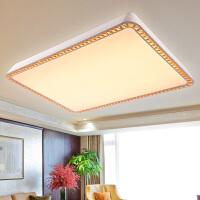 现代简约LED客厅灯吸顶灯圆形卧室灯具灯饰