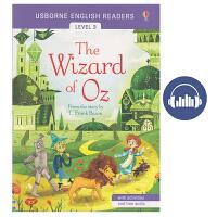 【首页抢券300-100】Usborne English Readers Level 3 The Wizard of O