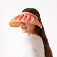 【爆款】蕉下纭际系列贝壳防晒帽女防紫外线沙滩遮阳帽空顶帽