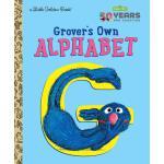 英文原版 芝麻街小金书 字母表 Grover's Own Alphabet (Sesame Street)