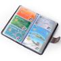 Yvoge韵歌大容量多卡包卡片包106个卡位超实用卡夹卡片本名片夹银行卡套