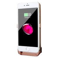 苹果6s背夹充电宝78一体式6plus电池8P充电手机壳6无线 苹果6/6s 玫瑰金 4.7寸