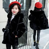 女童秋冬装外套儿童棉衣毛衣