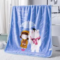 20191103102811696儿童婴儿毛毯双层加厚宝宝盖毯新生儿小毯子秋冬季双面珊瑚绒毯子