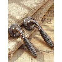 室内分体式门锁卧室房静音磁吸通用型复古门把手用美式具 35-50mm 通用型 带钥匙
