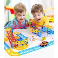 儿童玩具电动轨道车赛车跑道益智赛道拼装汽车小火车