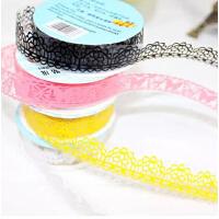小号文具胶带 创意蕾丝胶带 镂空蕾丝胶带贴纸 装饰胶带 相册胶带