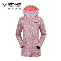 【品牌特惠】诺诗兰冬季户外女士防风保暖防水印花滑雪滑板服 GK052822