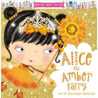 【预订】Sparkle Town Fairies Alice the Amber Fairy