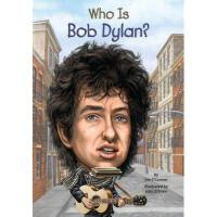 【现货】英文原版 Who Is Bob Dylan? 鲍勃迪伦是谁 名人认知系列 中小学生读物