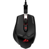 Rii M01机械鼠标 有线专业电竞游戏守望先锋lol逆战cf吃鸡台式电脑笔记本炫光游戏