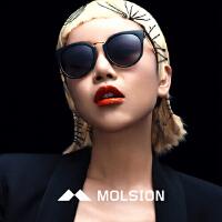 陌森太阳镜2016新款复古优雅女眼镜开车大框墨镜明星同款MS6000