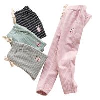 女童打底裤秋季装男童长裤子宝宝儿童外穿运动裤加绒