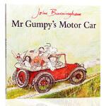 英文原版平装绘本 MR Gumpy's Motor Car 和甘伯伯开车去兜风 波士顿环球报号角书奖 廖彩杏书单 第5