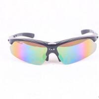 户外运动防护太阳镜骑行镜5付分体镜片可换近视男女
