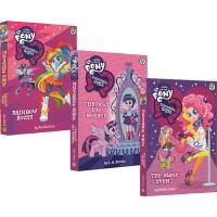 My Little Pony:Equestria Girls 彩虹小马 英文原版 小马宝莉 小马国女孩 4册章节书 精