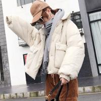 冬季新款宽松面包服棉衣女短款韩版百搭学生bf潮流加厚羽绒棉衣女