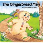 英文原版 姜饼人 图画故事书 The Gingerbread Man
