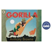 【首页抢券300-100】Gorilla 大猩猩 安东尼布朗 Anthony Browne 经典原版英文绘本 廖彩杏书单