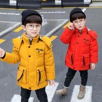 儿童棉衣男童羽绒冬装小孩中长款宝宝棉袄外套潮