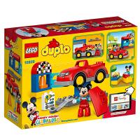 乐高积木玩具得宝系列米奇的汽车工作室 LEGO DUPLO 积木玩具拼插10829