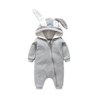 婴儿连体衣春秋新生儿衣服宝宝哈衣爬爬服0-3个月外出服婴儿衣服