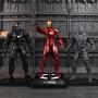 孩派 漫威系列 美国队长3复仇者联盟人物模型 手办可动人偶玩具