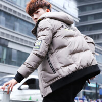 男士冬季棉衣2018新款韩版潮流外套休闲羽绒加厚学生袄子男