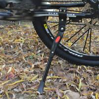 停车架可调节铝合金自行车脚撑山地车后边支撑脚撑中撑单车配件