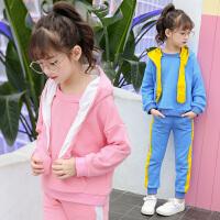 童装女童秋装运动套装女孩儿童春秋衣