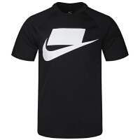 NIKE耐克 男装 运动休闲透气圆领短袖T恤 BV7596-011