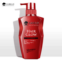 卡蓓诺(CABELO)日本进口防脱发育发洗发水男女士无硅油增发密发控油洗发露 育发护发素(加强型)350ml